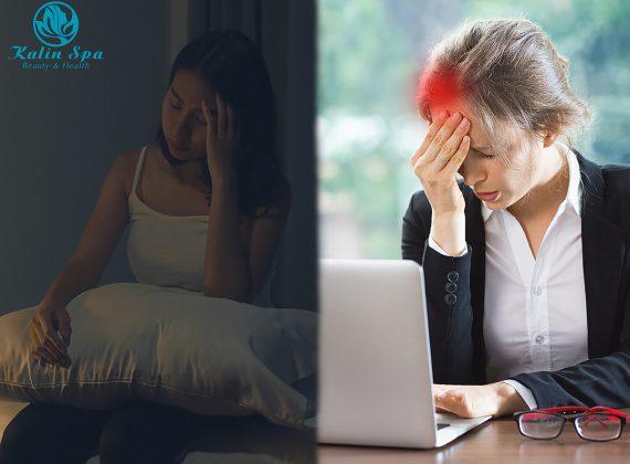 Vì sao đau vai gáy lại làm đau nửa đầu – mất ngủ?