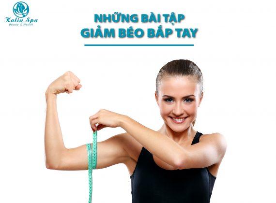 Những bài tập giảm béo bắp tay